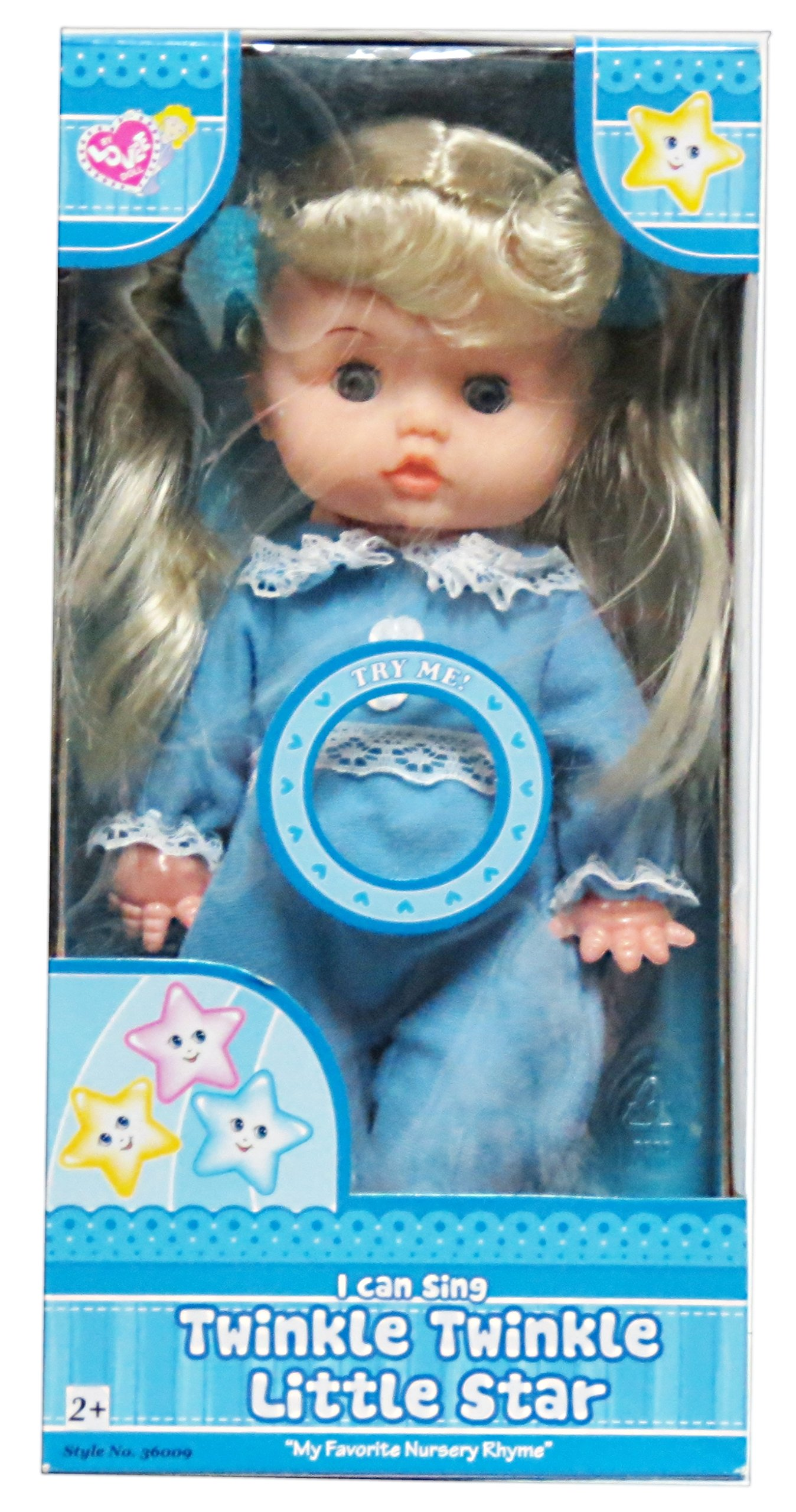 Lovee Doll Amp Toy Co : Lovee doll sings quot twinkle little star baby