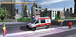Ambulance Car Simulator 3D from Turbo Rocket Games