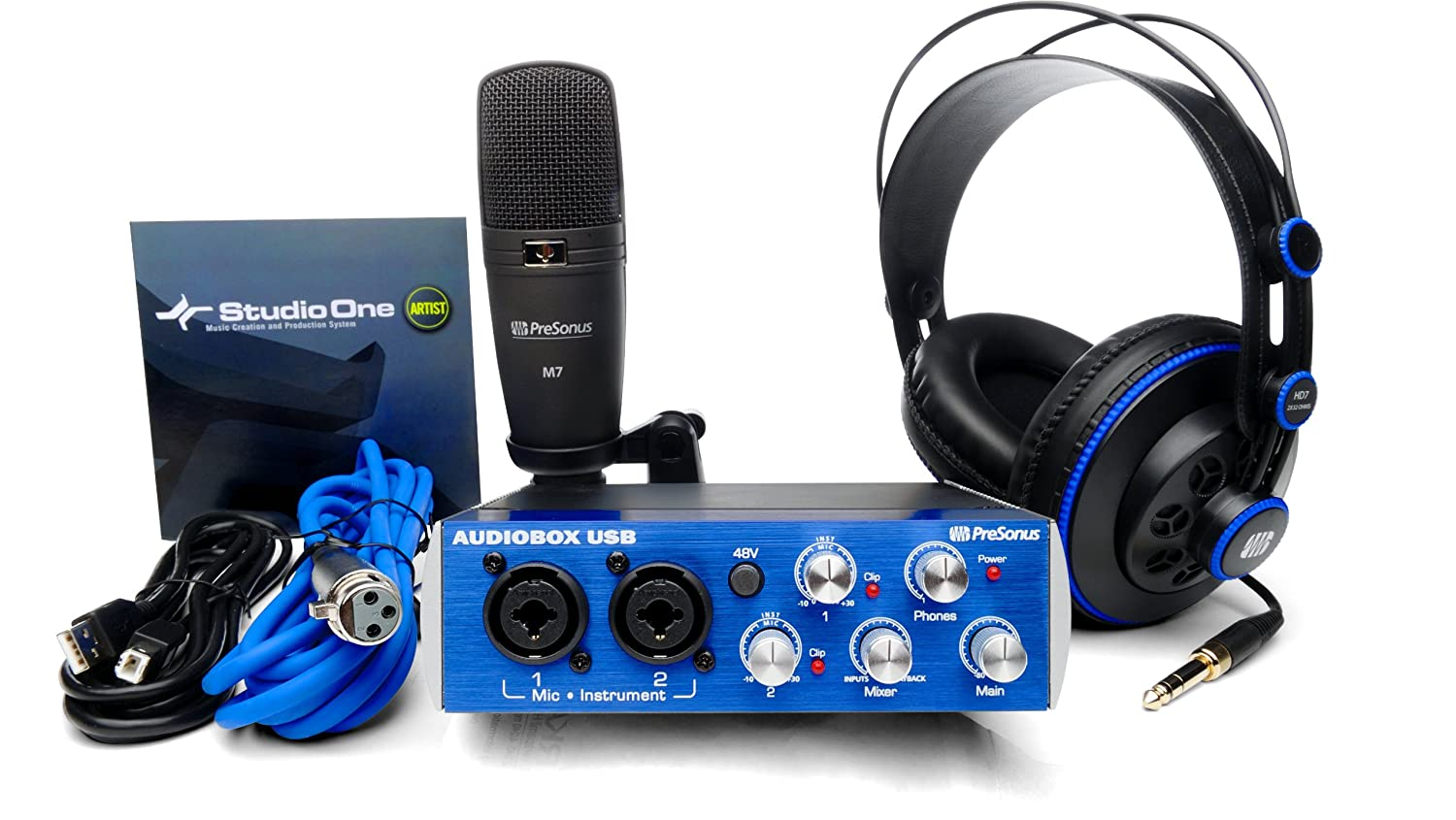 PRESONUS AUDIOBOX STUDIO RECORDING PACKAGE
