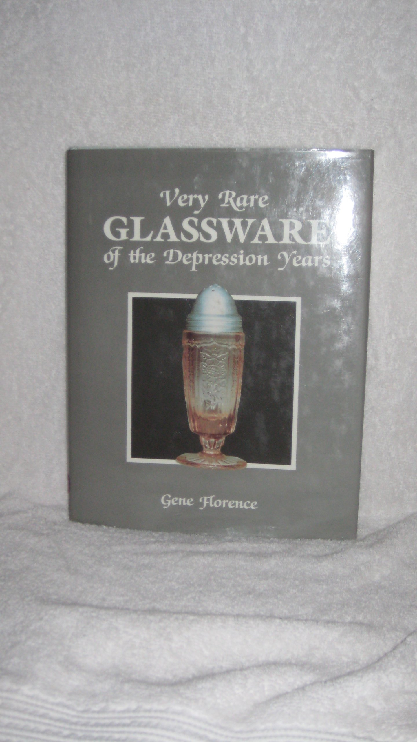 Very Rare Glassware of the Depression Years/1st Series, Florence, Gene