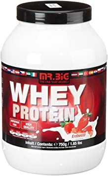 Mr.Big Whey Protein Erdbeere, 1er Pack (1 x 750 g)