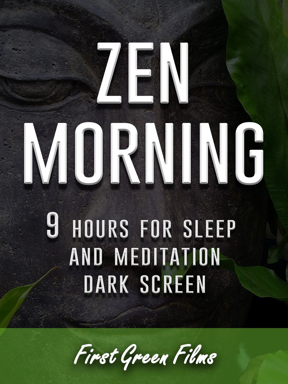 Zen morning, 9 hours for Sleep and Meditation, dark screen