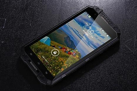 Bestore®-Discovery V9 MTK6582 IP-68 1.3GHz Quad Core 5,5 pouces Android 4.4.4 1 Go de RAM + 8 Go ROM 8.0MP caméra à double carte SIM 3G WCDMA déverrouillé Smartphone (Noir)