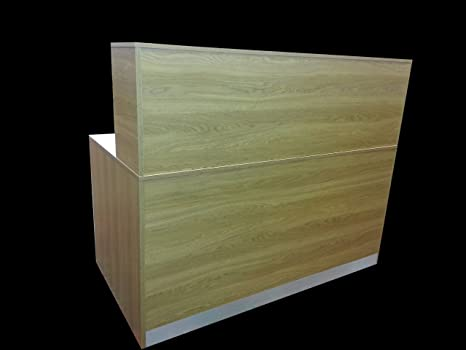 NEW HIGH QUALITY Reception Desk IN OAK, 1200 mm W /1100mm H /600 mm D