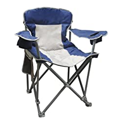 Caravan Sports Quad Chair - 500 Pound Capacity Blue