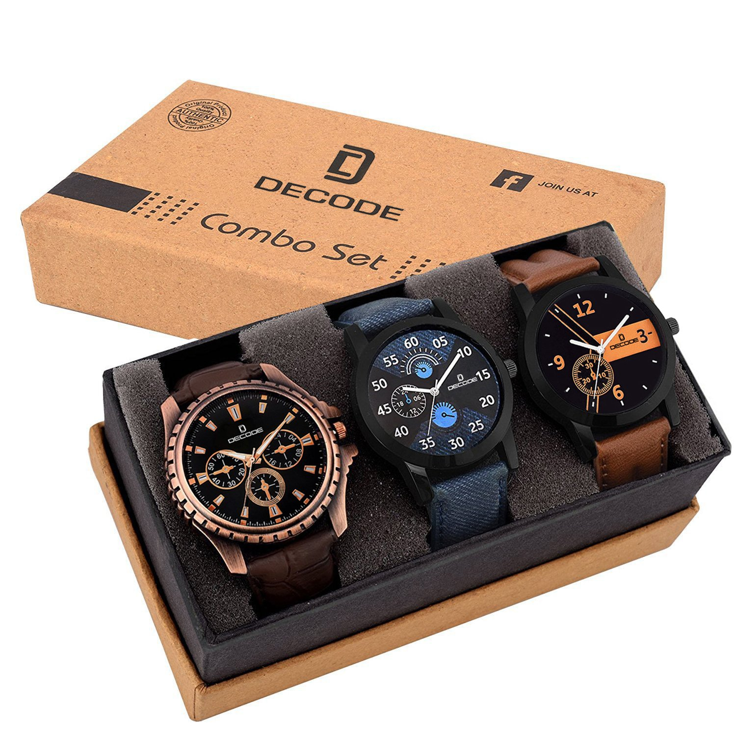 buy watches for men online at low prices in shop sports decode analogue multi colour dial boy s and men s watch combo of 3 exclusive watches