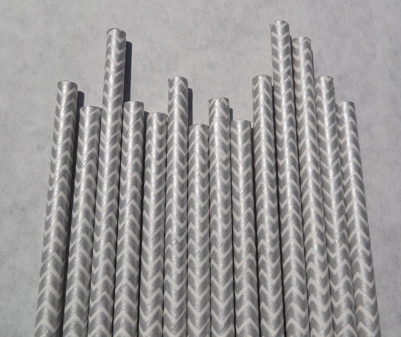 Striped Paper Drinking Straws Paper Drinking Straws 25