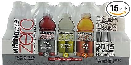 Vitamin Water Label Vitamin Water Zero Variety