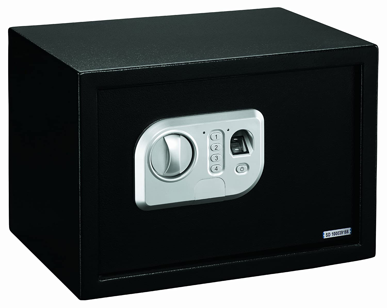 Stack-On PS-10-B Biometric Personal Safe with Adjustable