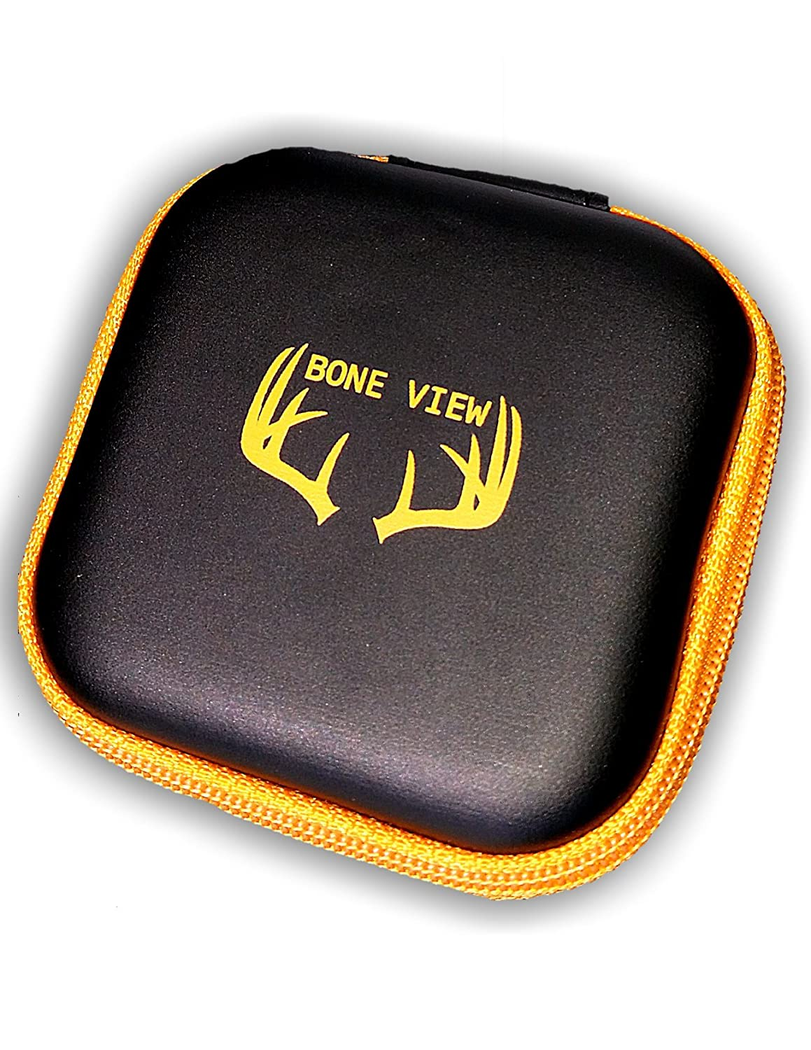 BoneView Weather-Resistant Storage Case for Trail Camera Card Reader and SD Cards