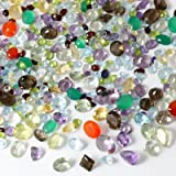 100+ Carats Mixed Gem Natural Loose Gemstone Lot Wholesale Loose Mixed Gemstones Loose Natural Wholesale Gems Mix Beverly Oaks Certificate of Authenticity (Color: Mixed)