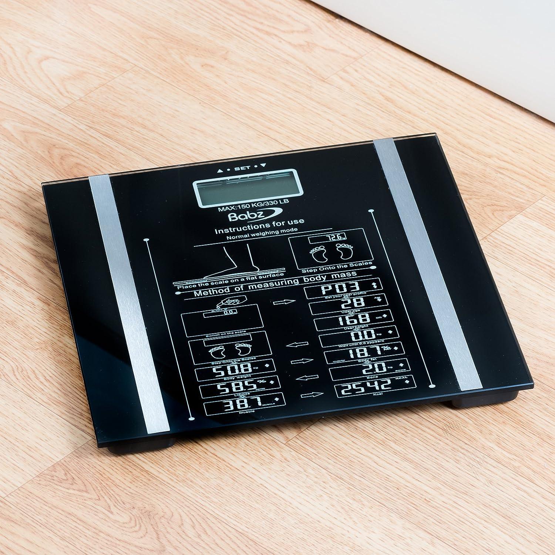 Babz Digital BMI Body Fat Scale