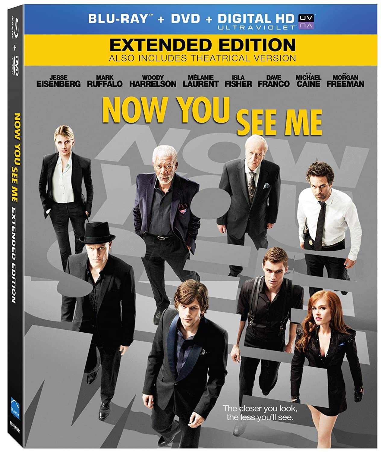 Download Now You See Me 2013 EXTENDED 1080p BluRay x264 anoXmous Torrent