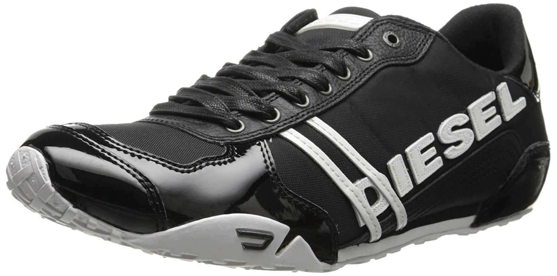 Diesel Men's Harold Nylon/Leather Fashion Sneaker туфли diesel laika vansis fashion
