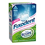 Fixodent Denture Cleanser Plus Scope Ingredients 78 Count
