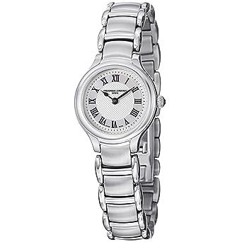 Frederique Constant Women's FC200M1ER6B Delight Analog Display Swiss Quartz Silver Watch