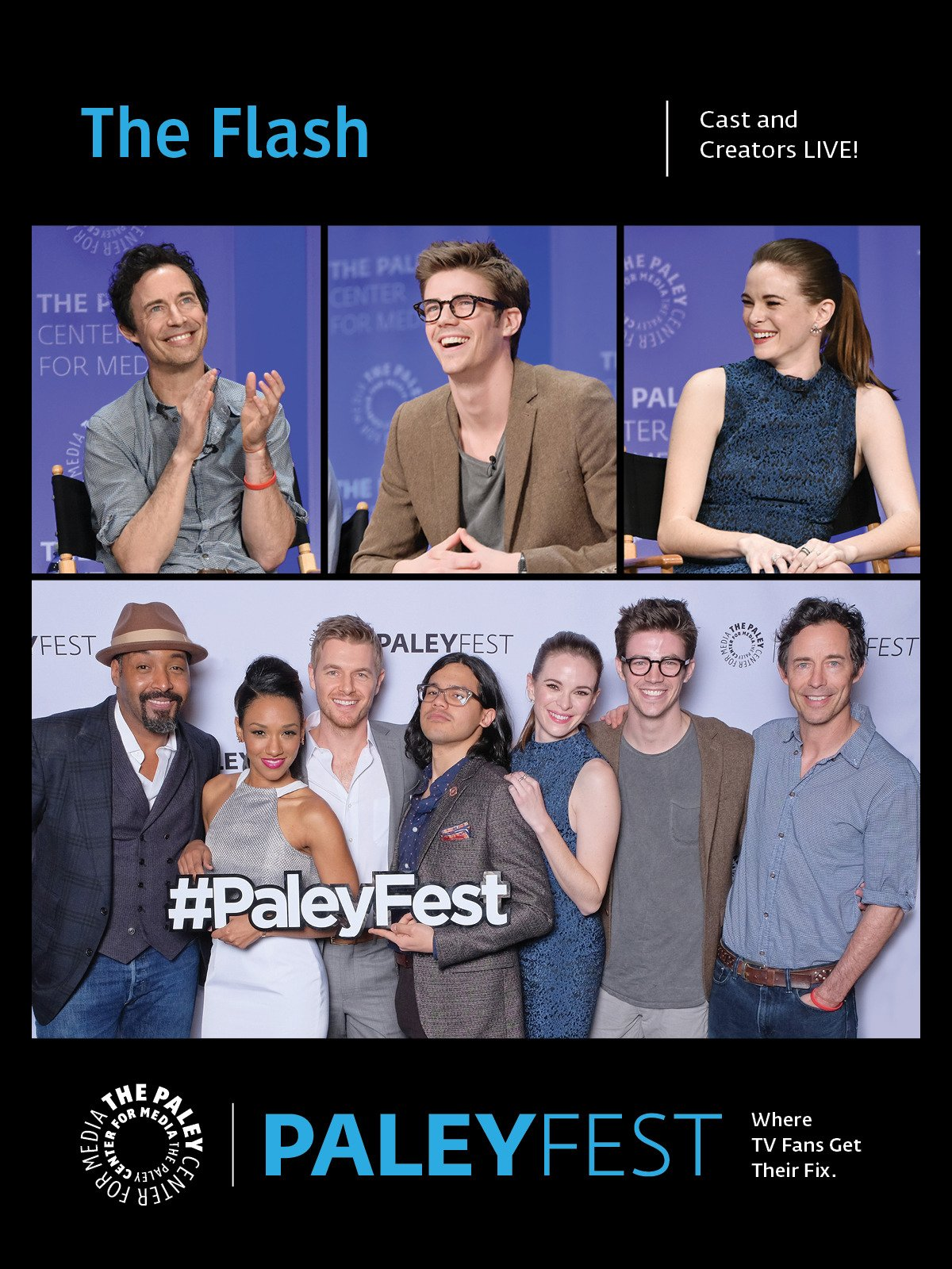 The Flash: Cast and Creators Live at PaleyFest LA