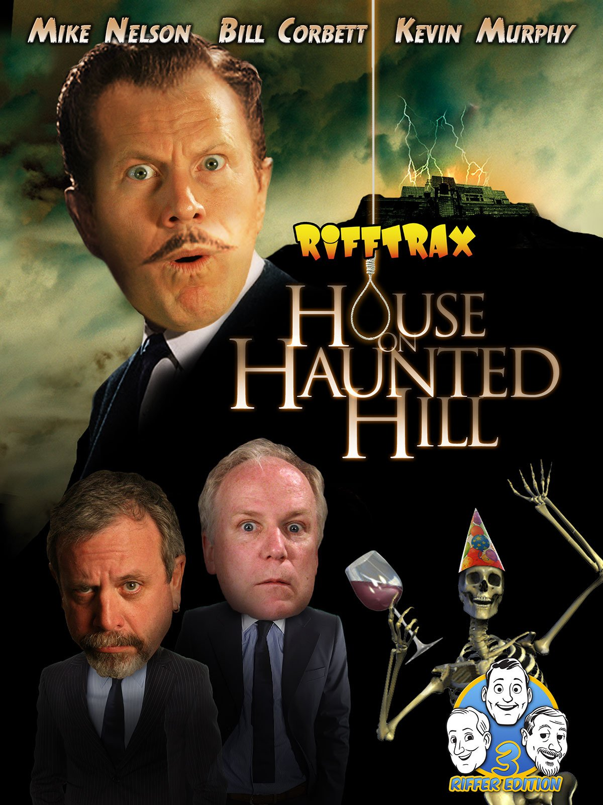 Rifftrax: House on Haunted Hill- Three Riffer Edition
