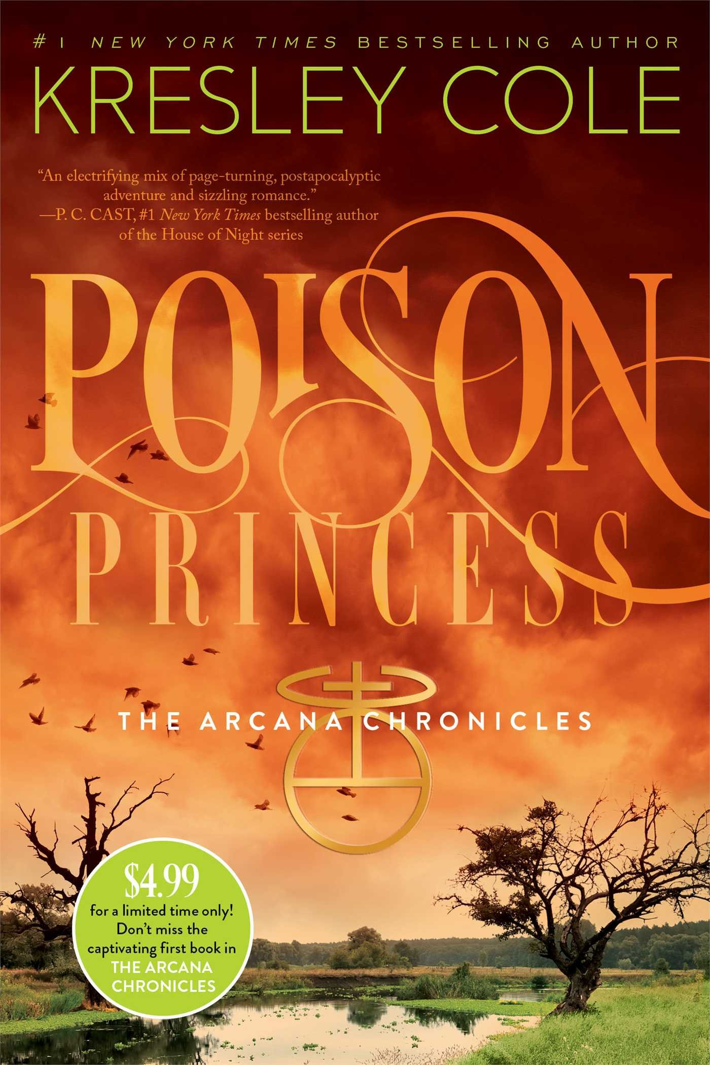 Poison Princess (The Arcana Chronicles) - Kresley Cole