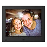 NIX Advance Digital Photo Frame 8 inch X08E. Electronic Photo Frame USB SD/SDHC. Digital Picture Frame with Motion Sensor. Remote Control Included (Color: Black, Tamaño: 8 inch)