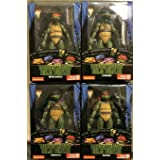 PRE-Order Teenage Mutant Ninja Turtles TMNT 90's Movie 4 Action Figures Bundle 7