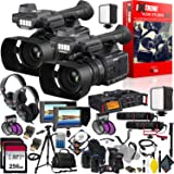 Panasonic AG-AC30 Full HD Camcorder with Touch Panel LCD Viewscreen and Built-in LED Light Extreme Vlogging Studio 2.0 - Multi-Camera Setup (Color: Extreme Kit v2.0, Tamaño: 1080p)
