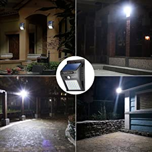 20 led solar lights outdoorliveditor waterproof solar powered 20 led solar lights outdoorliveditor waterproof solar powered motion sensor light wireless security lights outside aloadofball Image collections