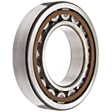 SKF NU 212 ECP Cylindrical Roller Bearing, Removable Inner Ring, Straight, High Capacity, Polyamide/Nylon Cage, Metric, 60mm Bore, 110mm OD, 22mm Width, 6300rpm Maximum Rotational Speed, 22900lbf Static Load Capacity, 21000lbf Dynamic Load Capacity