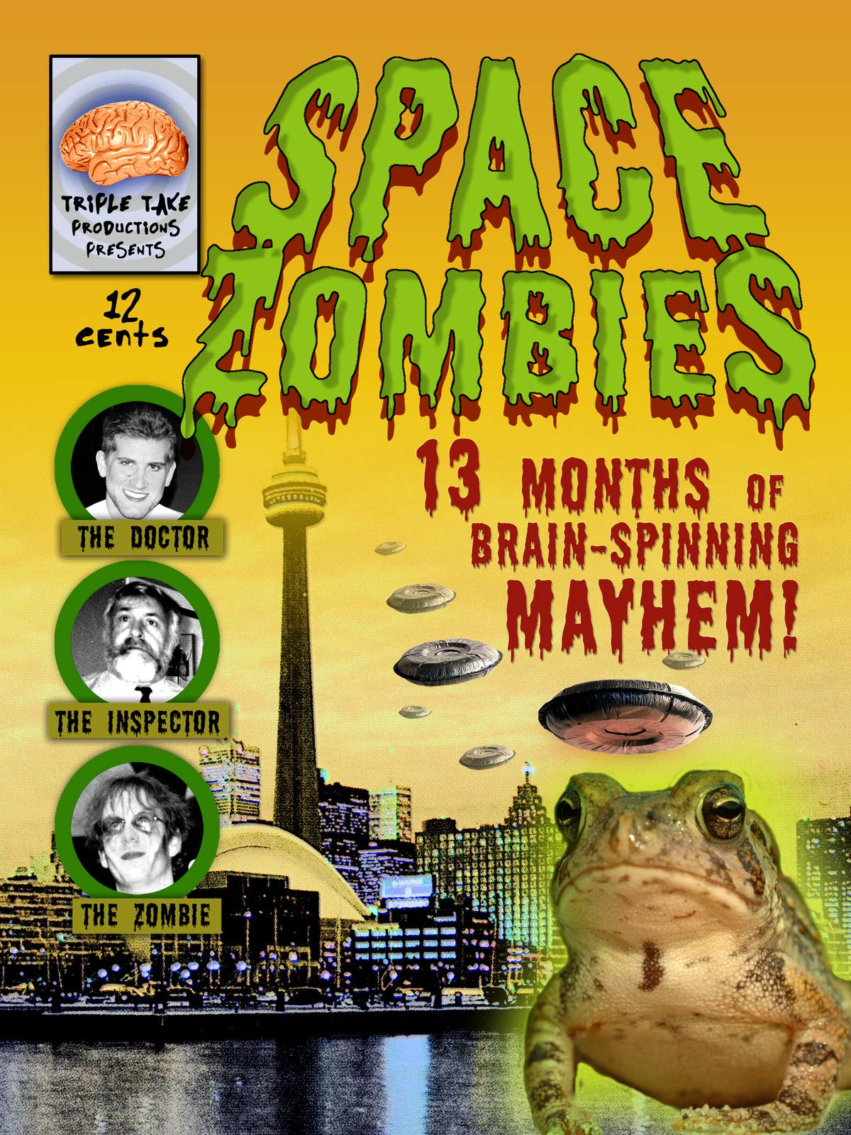 Space Zombies: 13 Months of Brain-Spinning Mayhem!