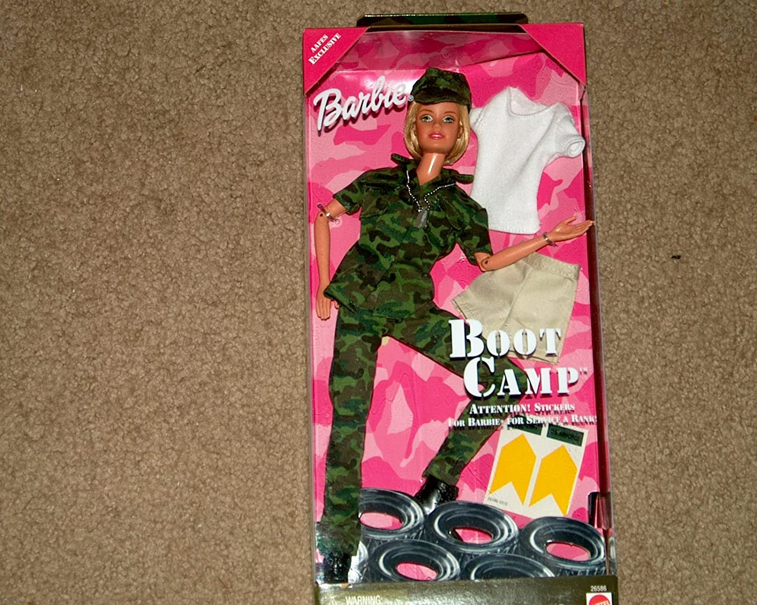 Boot Camp Barbie (1999 Edition)