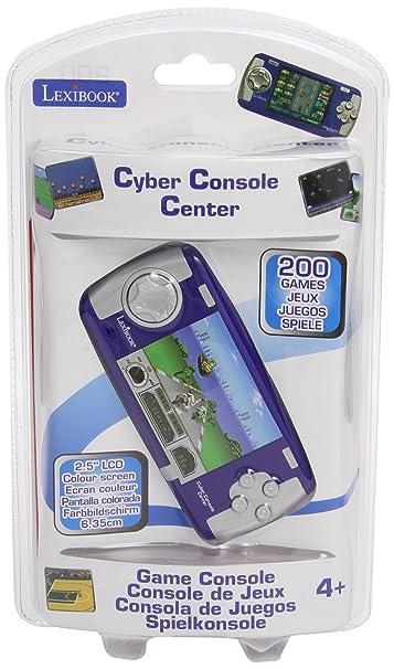 Lexibook - jl2050 - Jeu Electronique - console de jeux 200 jeux Cyber Console Center