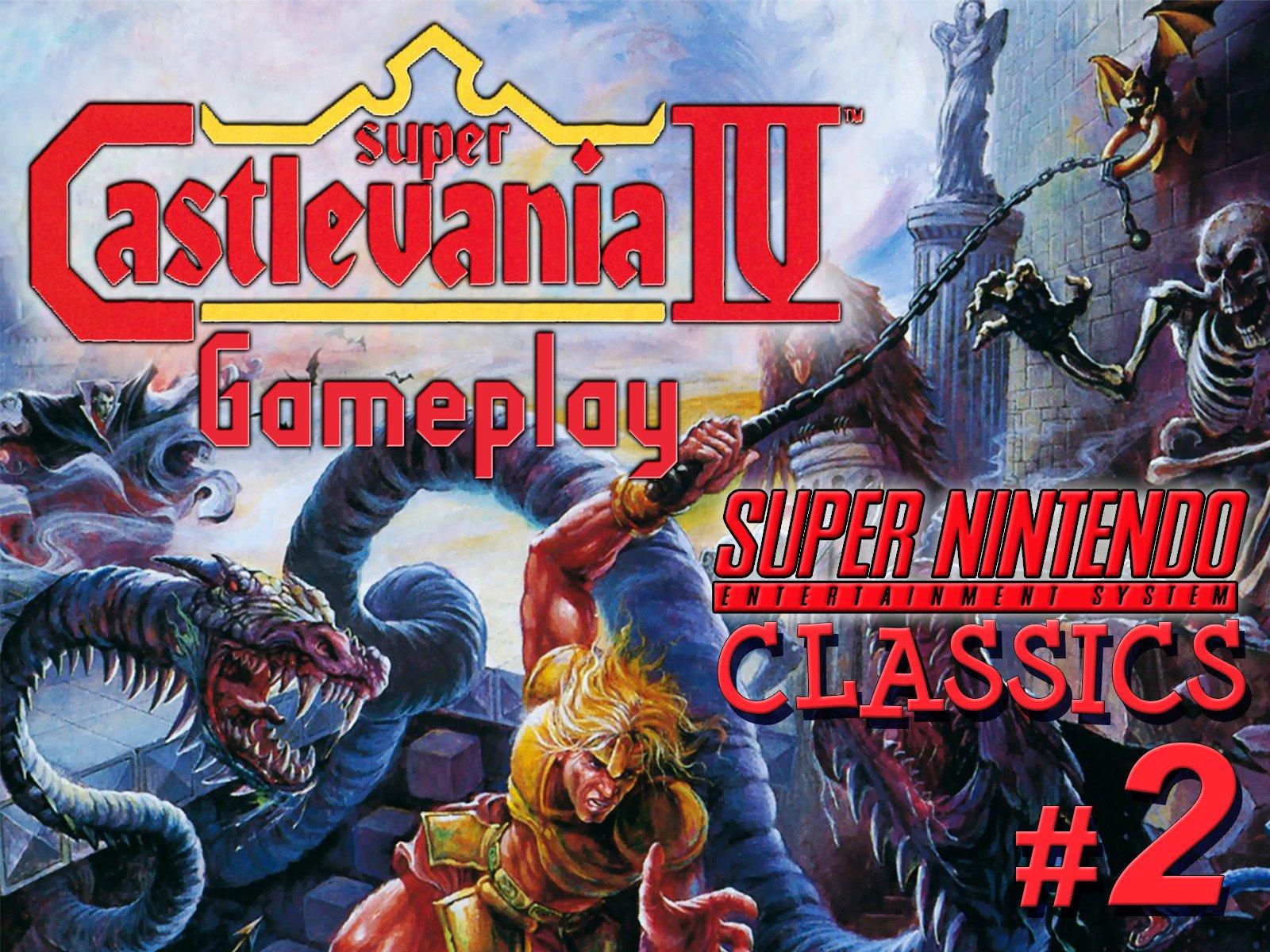 Clip: Super Castlevania IV Playthrough (SNES Classics 2) - Season 1