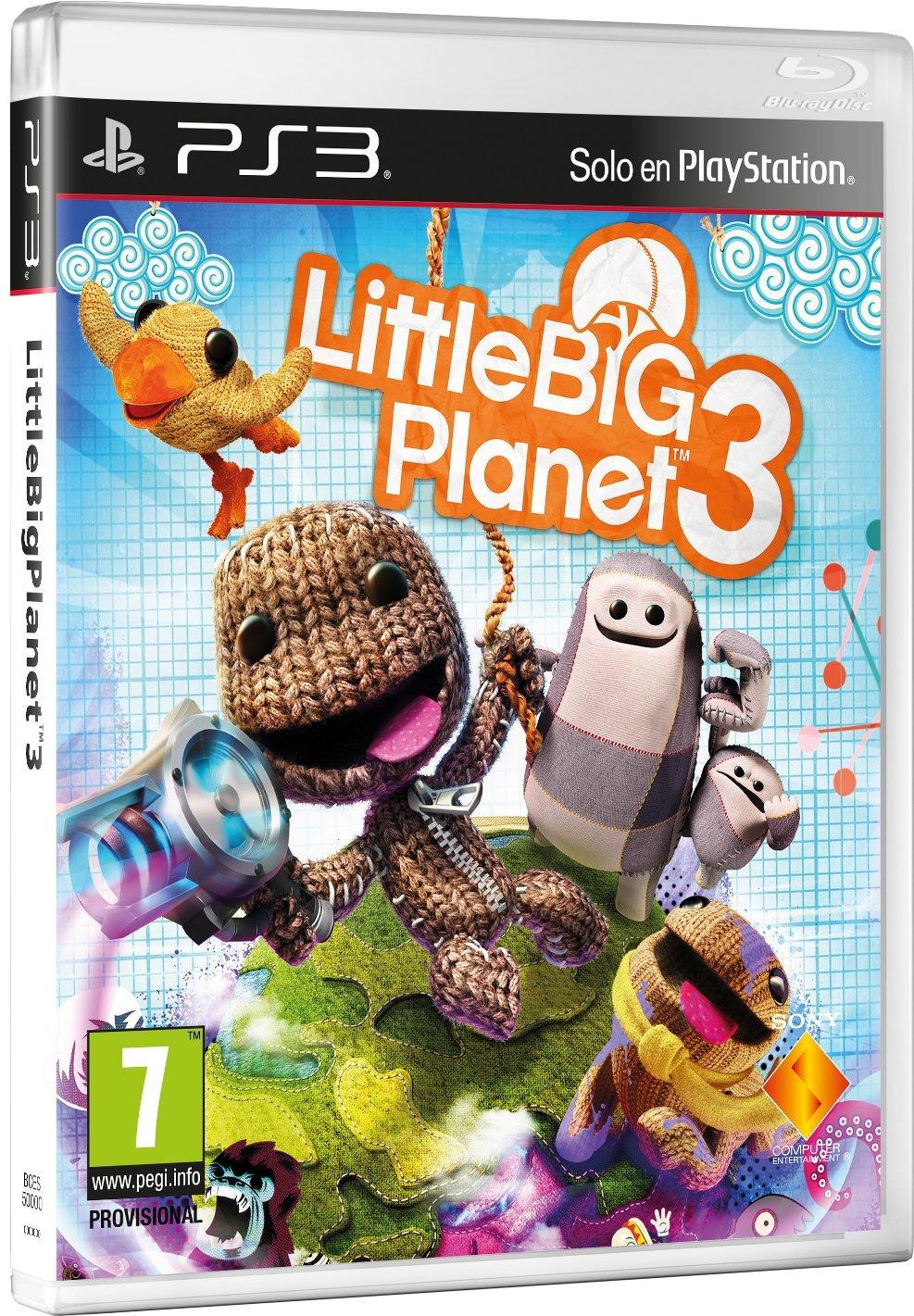 little big planet 3 barato para ps3