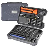 Vastar Precision Screwdriver Set - 55pcs Magnetic Driver Bit Set,Repair Tool Kit For Cell Phone/Laptop/Game Console/Watch/Glasses/Toy/Other Electronic Devices