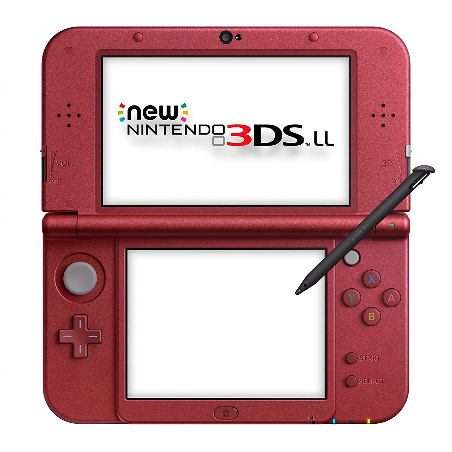 NINTENDO DS New NINTENDO 3DS LL Newニンテンドー3DS LL RED-S-RAAA メタリックレッドの画像