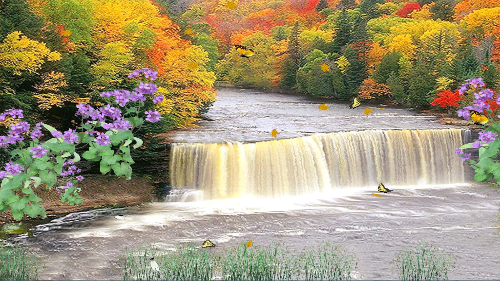 Autumn Waterfall [Download]