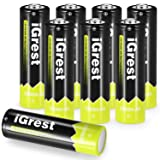 iGrest Rechargeable AA Batteries 2800mah Nimh Battery (8 pack) (Color: 8 pack, Tamaño: 8 pack)