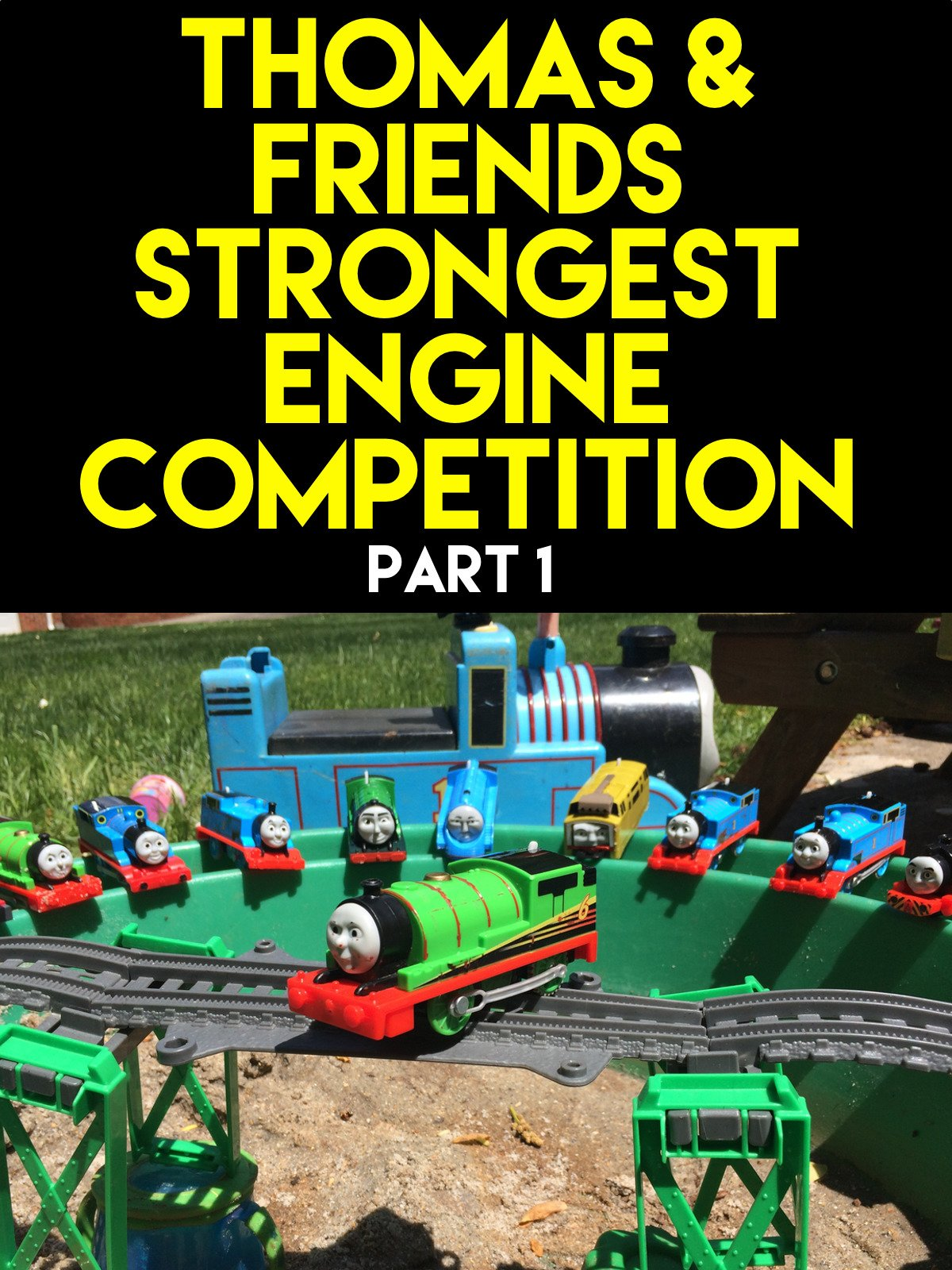 Clip: Thomas and Friends Strongest Engine Competition part 1