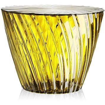 Kartell, Tavolino Sparkle, diametro 45 cm, altezza 35 cm, Giallo (Gelb)