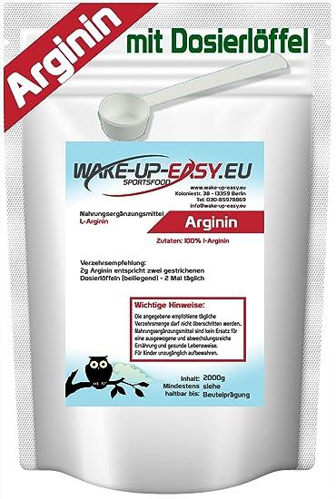 L- ARGININ PULVER 100% REIN NO-X BOOSTER, sehr gut löslich (HCL) 100g - 5Kg