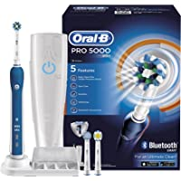 Oral-B Pro 5000 Cross Action Electric Rechargeable Toothbrush with Bluetooth Connectivity