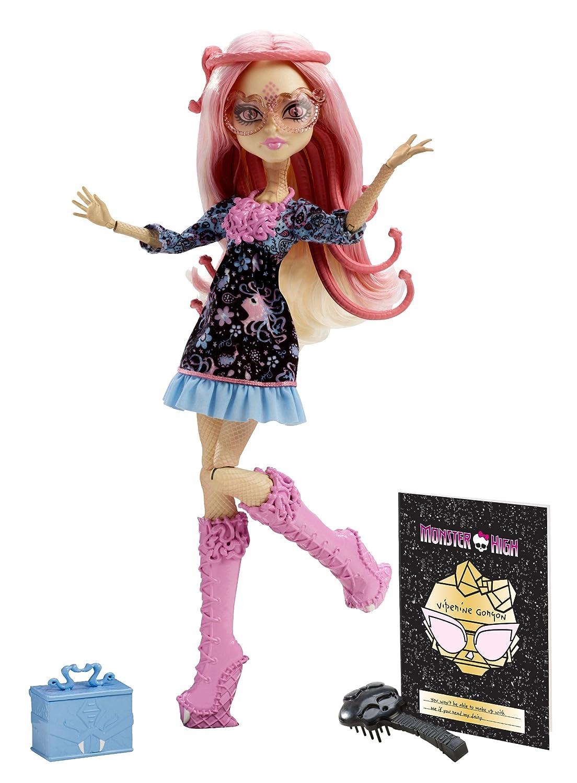 Monster High Frights, Camera, Action! Viperine Gorgon Doll