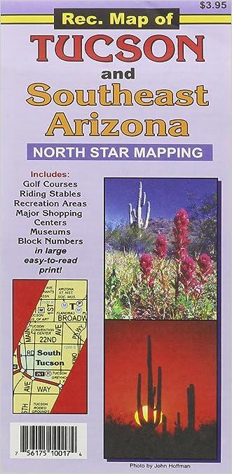 Rec. map of Tucson and southeast Arizona