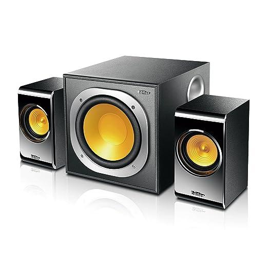 Edifier P3060 Ensemble d'Enceintes 2.1 8 W x 2 + 14 W x 1 Noir