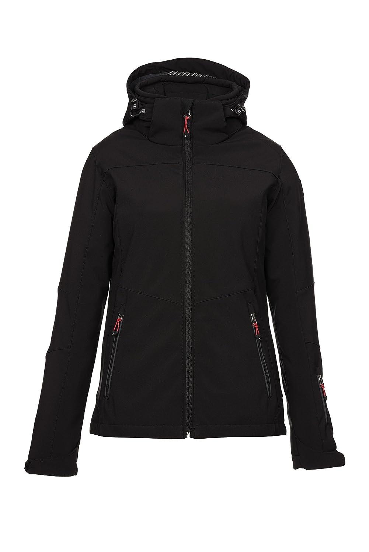 killtec – Damen Soft Shell Jacke mit Kapuze, Winddicht – Wasserdicht – Atmungsaktiv, H/W 2015, Darya (27114) günstig