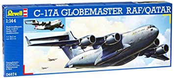 Revell - 04674 - Maquette - C-17A Globmaster Raf/Qatar