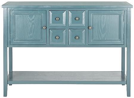 Safavieh Arbor Sideboard, Wood, Ocean Blue