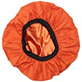 Evolve Exotics Satin Sunset Bonnet (Color: dark orange)