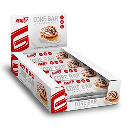 GOT7 Nutrition Core Bar, Cinnamon Roll (12 x 60 g)
