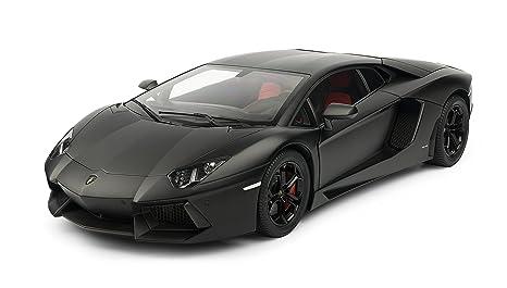 Pocher - Phk102 - Maquette De Voiture - Lamborghini Aventador - Noir Mat (pré-peint) - Echelle 1/8